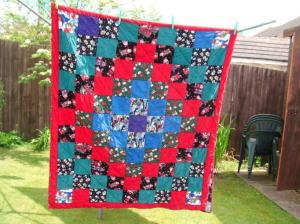 Second corduroy quilt