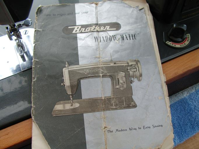 Brother Machine Manufactured In Ireland Rosewillow's Unfinished Gorgeous Vintage Brother Sewing Machine Manual