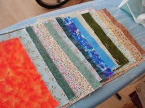 Little squares fabric