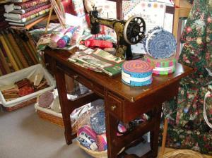 Quilt shop treadle
