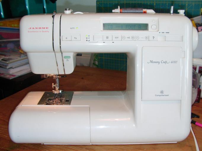 memory craft 4000 sewing machine