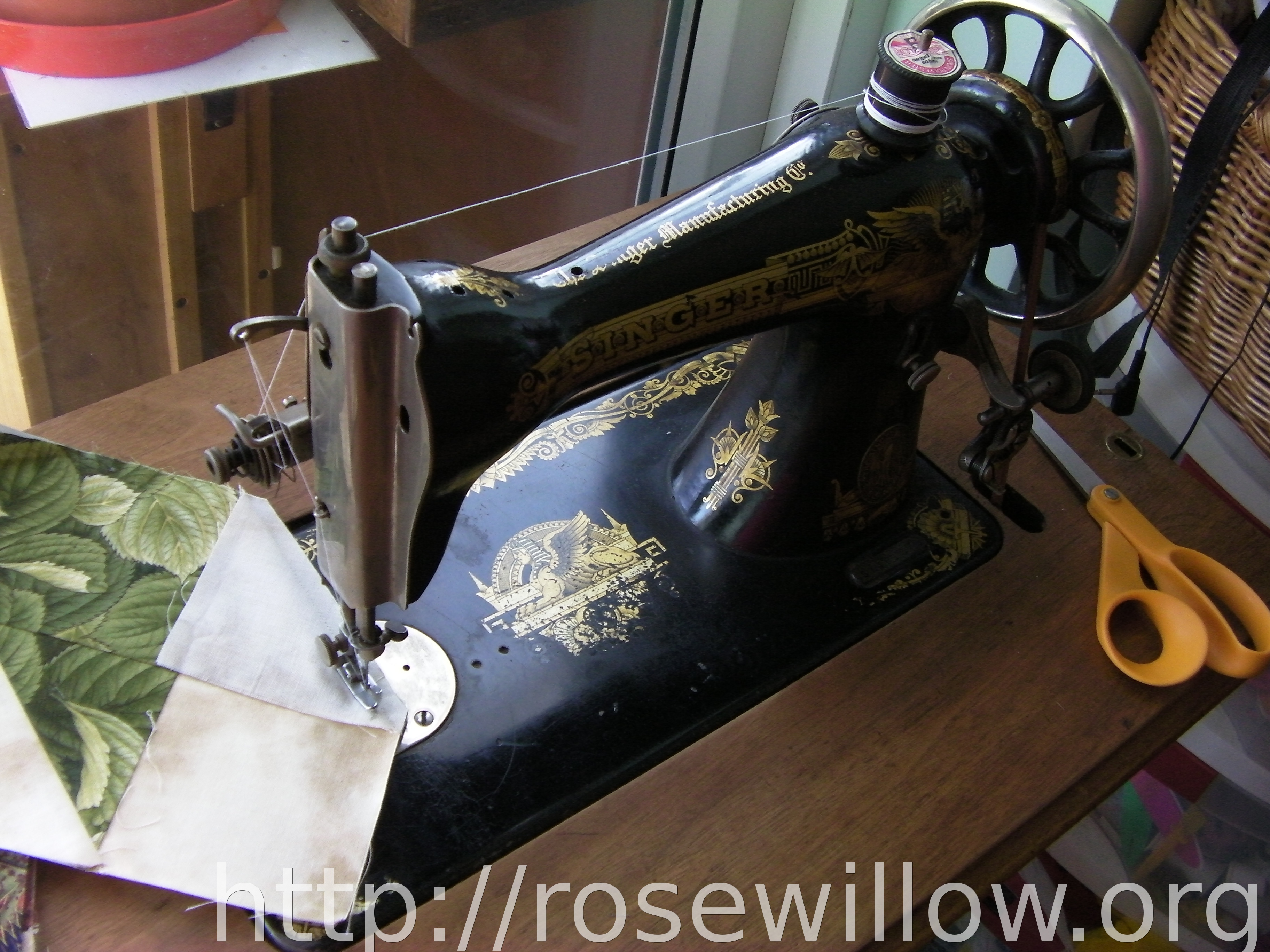 today s sewing machine rosewillow s unfinished business